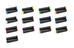 Sixpack M-Trix Griffe schwarz
